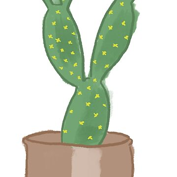 cute cactus by Bunnyfuncake