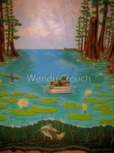 Frog and Toad by Wendy Crouch