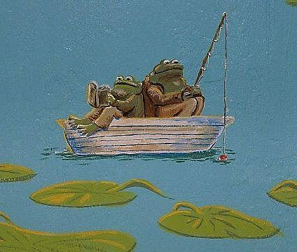 Frog and Toad 2 by Wendy Crouch