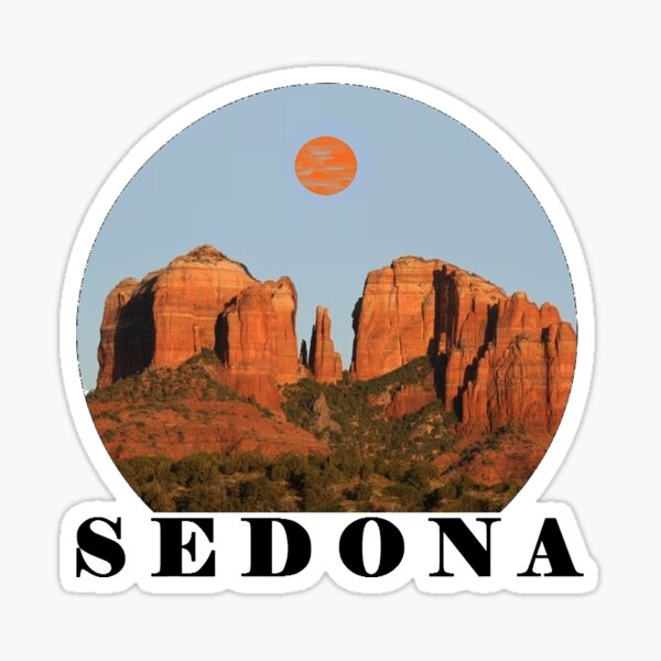 BEAUTY OF SEDONA  Sticker
