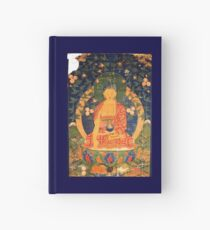 Medicine Buddha Tibetan Thangka Reproduction  Hardcover Journal