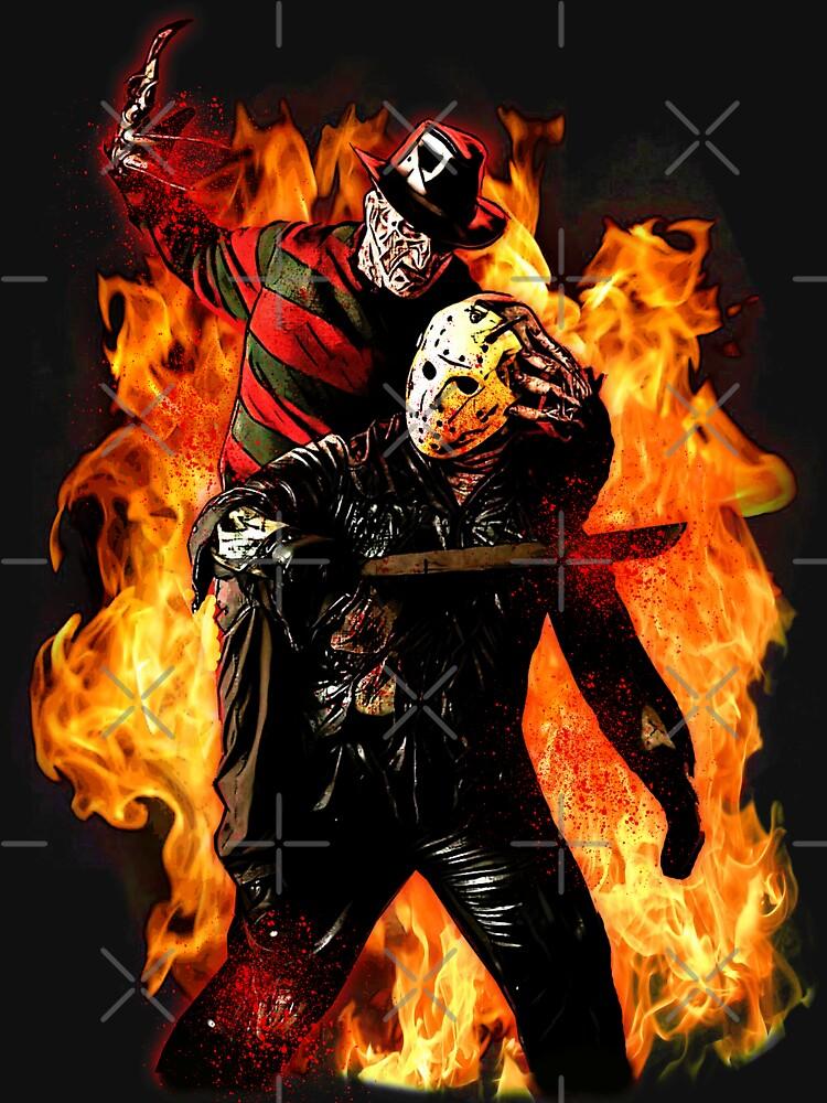 Freddy vs. Jason by JTK667