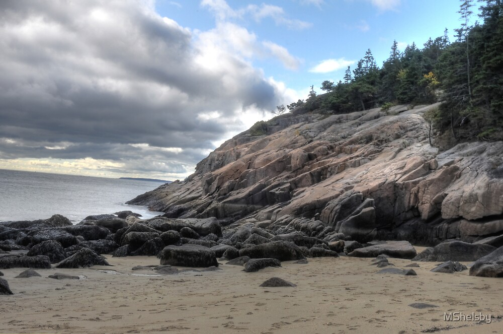 Acadia Sand Beach by MShelsby