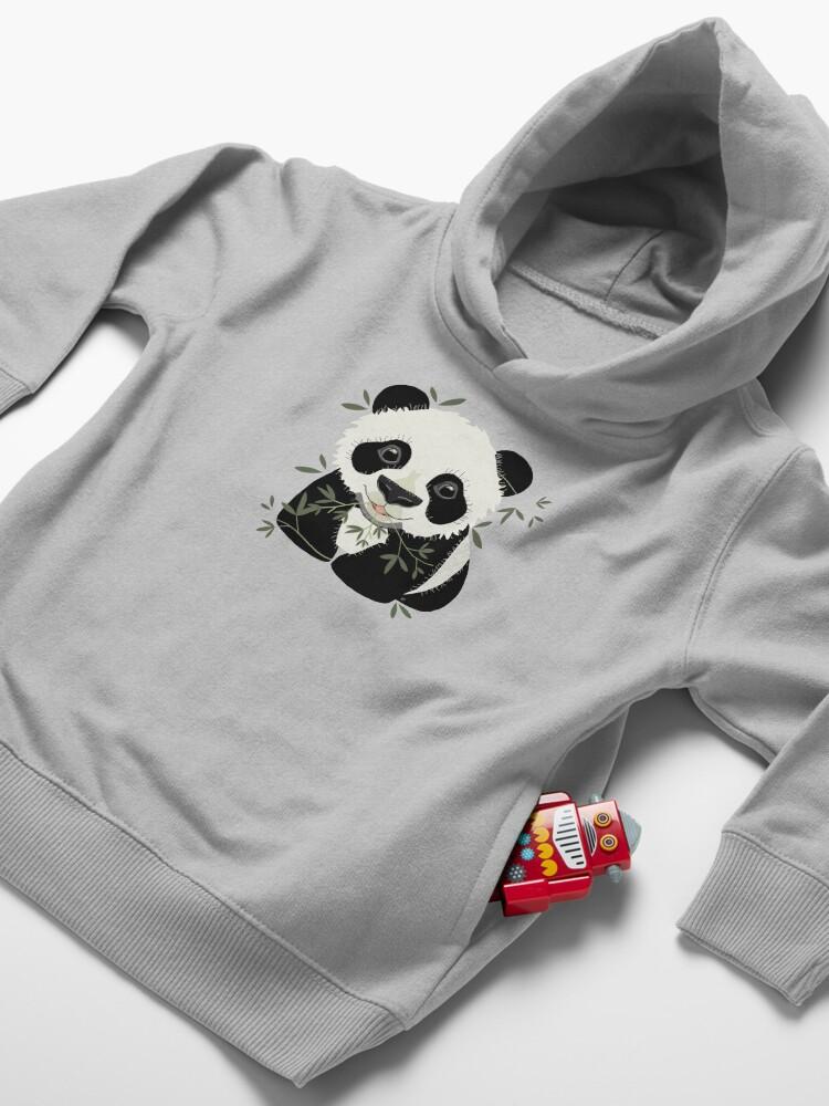 Alternate view of Panda Toddler Pullover Hoodie