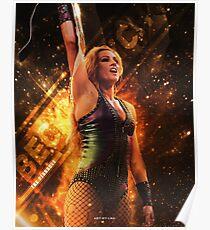 Becky Lynch   Pinnacle   Artwork Poster