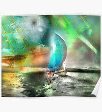 Sailing Through Concepts Poster