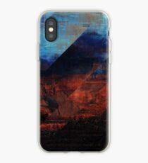 Deconstructing Time Altered Landscapes Grand Canyon iPhone Case