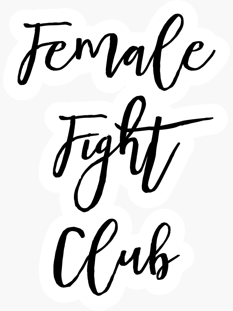 "BRIDESMAIDS MOVIE QUOTE ""FEMALE FIGHT CLUB"" by RedDane"
