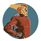 Rocketeer Bust by baggss