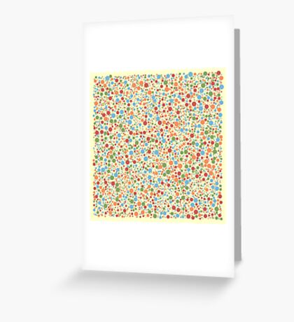 Pastel - Circle Spawning 001 Greeting Card