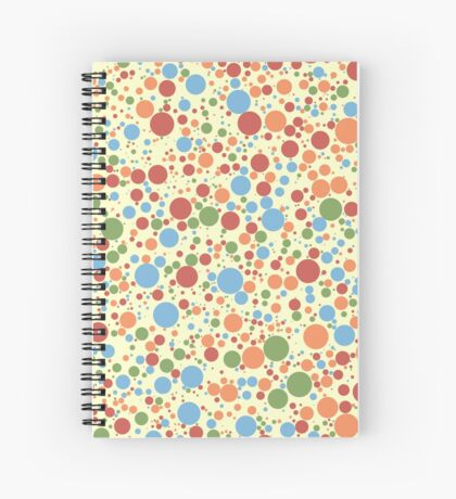 Pastel - Circle Spawning 001 Spiral Notebook