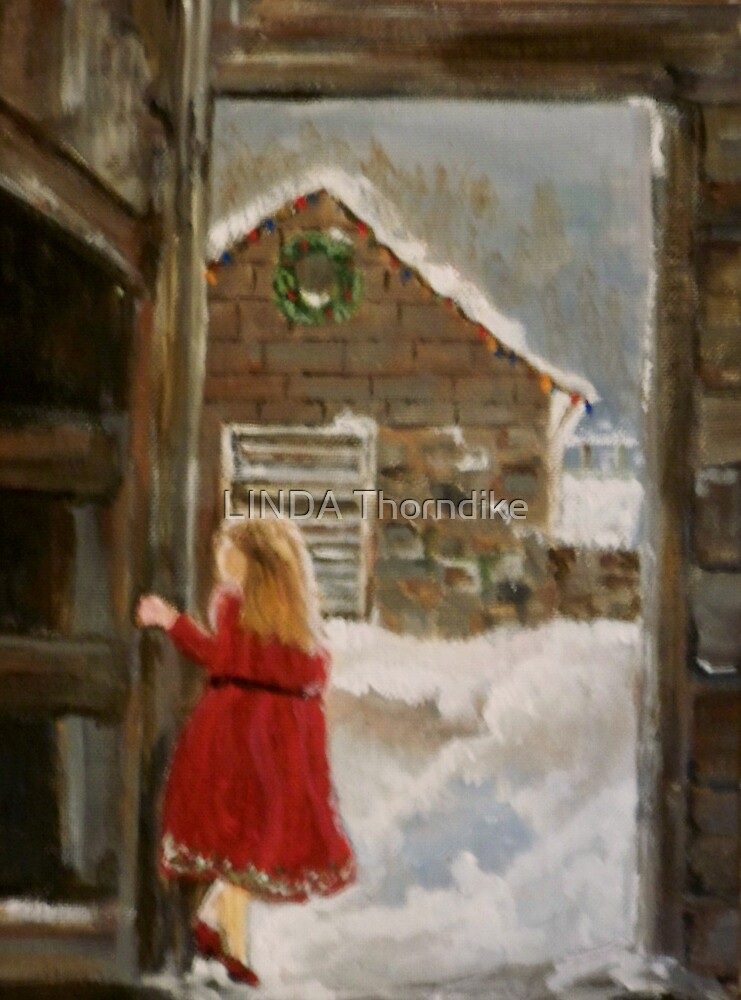 A COUNTRY CHRISTMAS by LJonesGalleries