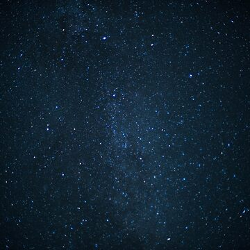Night sky with stars by franceslewis
