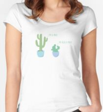 I'm A Prick Women's Fitted Scoop T-Shirt