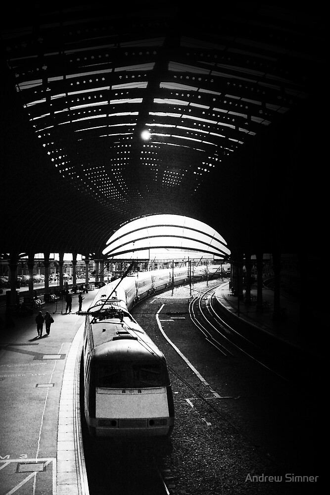 Departure at York Station by Andrew Simner