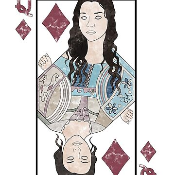 Max | Queen of Diamonds (Side A) by runawaymarbles