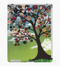 Wispy Button Tree iPad Case/Skin