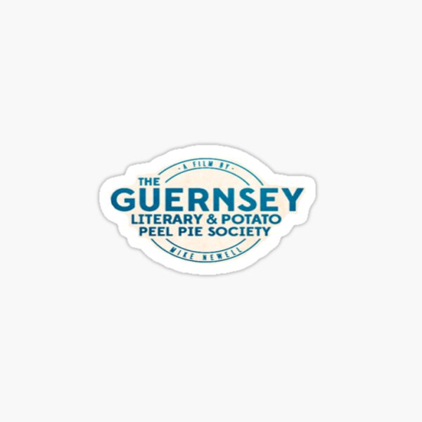 The Guernsey Literary and Potato Peel Pie Society Sticker