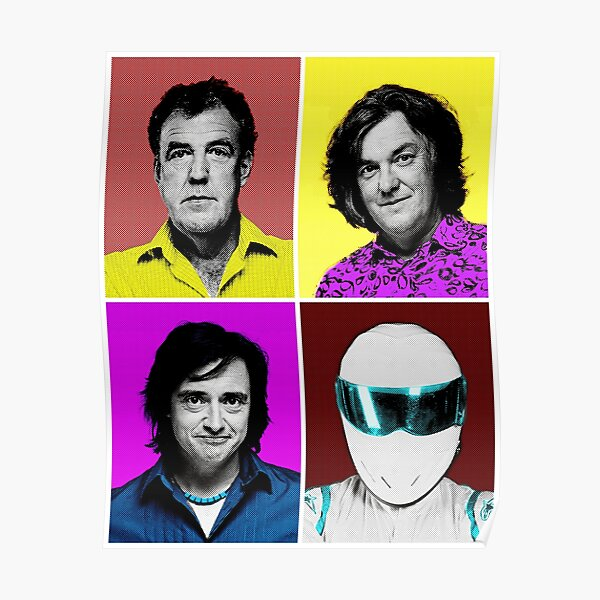 TOP GEAR Inspired Artwork All in One Poster