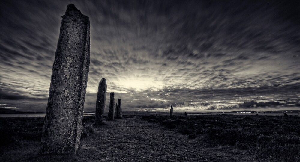 Ring of Brodgar by flatfootphoto