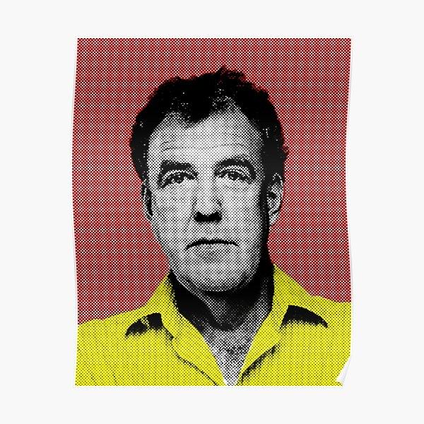 Top Gear inspired pop art - Clarkson Poster