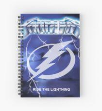 Cuaderno de espiral Tampa Bay - Ride The Lightning