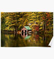 The Boat House-Lake Paradox Poster