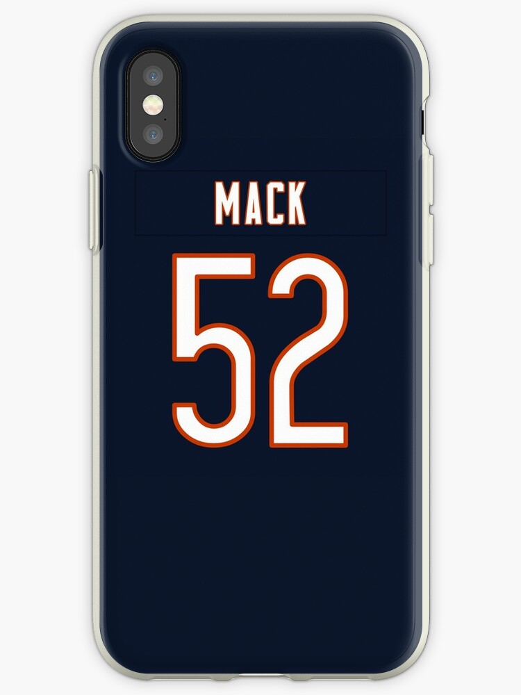 new arrival 3c848 48cb8 'Khalil Mack Jersey Case' iPhone Case by csmall96