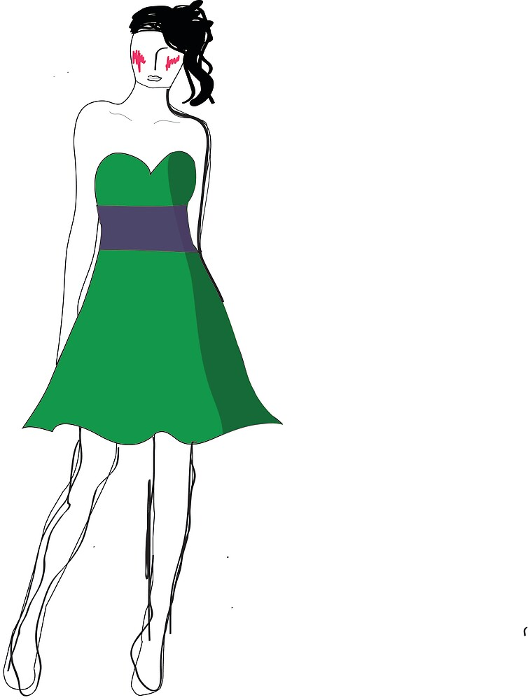 Design of my formal dress. by Medikate