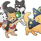 Halloween Puppers 2018 by ncdoggGraphics