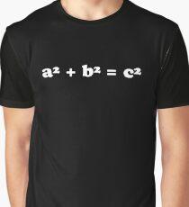 A squared plus B squared equals C squared Graphic T-Shirt