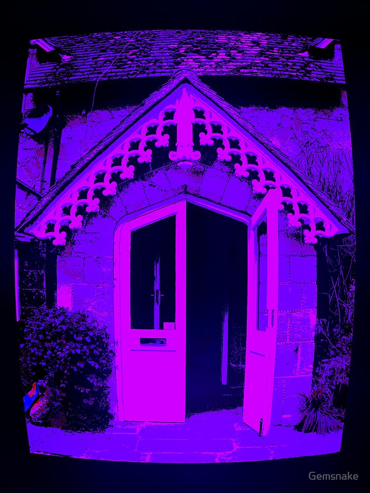 Posterised Purple by Gemsnake