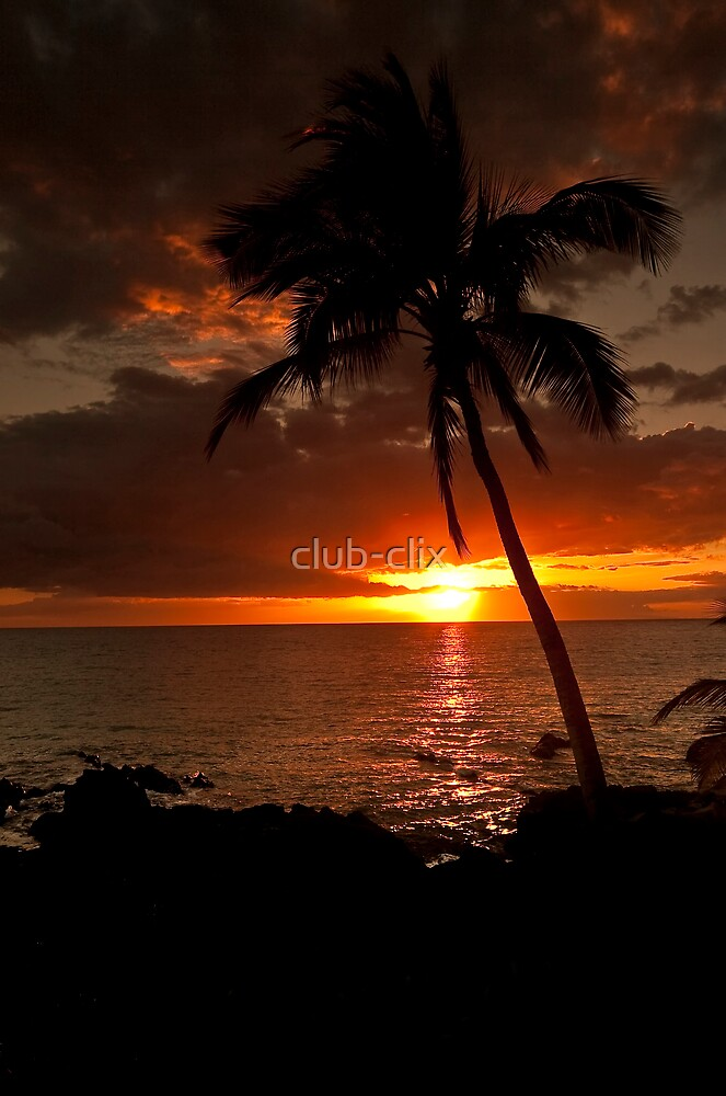 Hawaii Sunset by club-clix