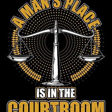 Man courtroom by GeschenkIdee
