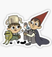 Greg and Wirt - Transparent Sticker