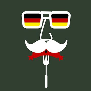 Germany Mustache Oktoberfest by maxarus