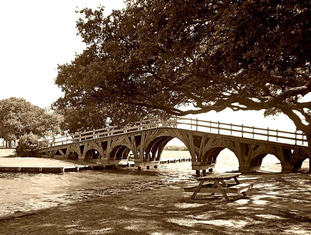 Heritage Park Bridge by Works By  Barbara