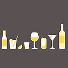 ALL THE DRINKS yellow by anna c