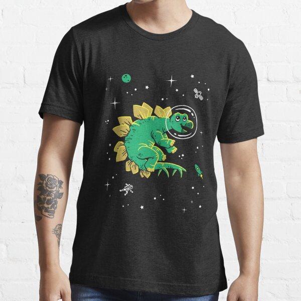 Stegosaurus In Space T-Shirt - Cool Dinosaur Tee Essential T-Shirt