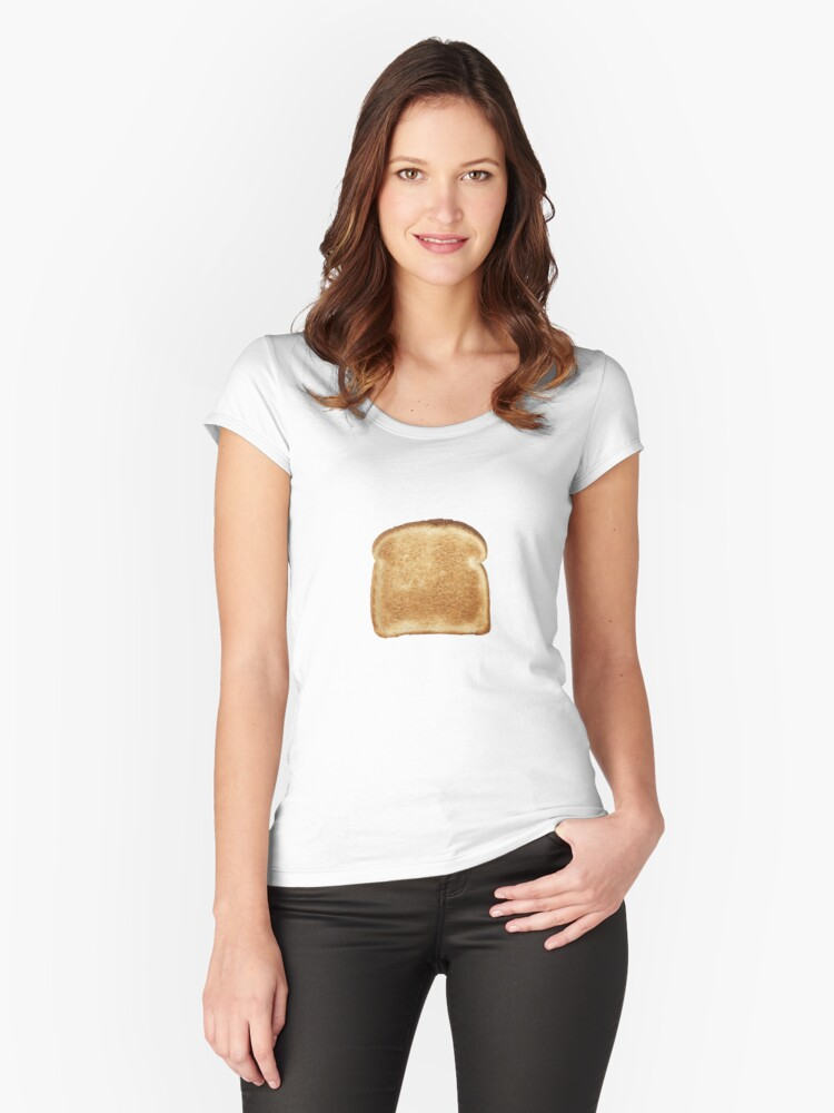 Toast Women's Fitted Scoop T-Shirt Front