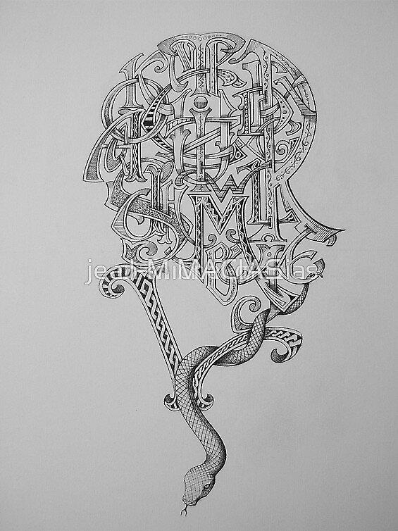 alphabet man n4 by J-M MACIAS