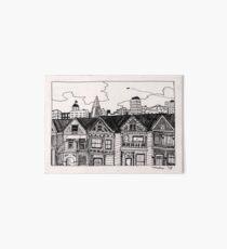 san francisco houses ! Art Board