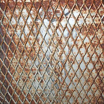 Rusty Grate by Falln