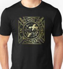 In Hoc Signo Vinces Gold Unisex T-Shirt