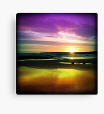 Colourful Reflection Canvas Print