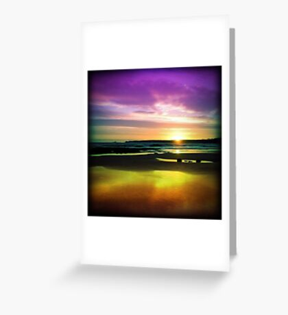 Colourful Reflection Greeting Card