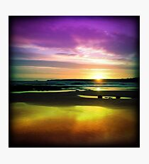 Colourful Reflection Photographic Print