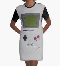 Nitendo Game Boy Graphic T-Shirt Dress