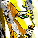 Akhenaton cartoon 2 by Marilyns