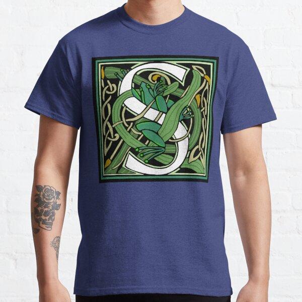Nouveau Celtic Frog Letter 2018 Classic T-Shirt